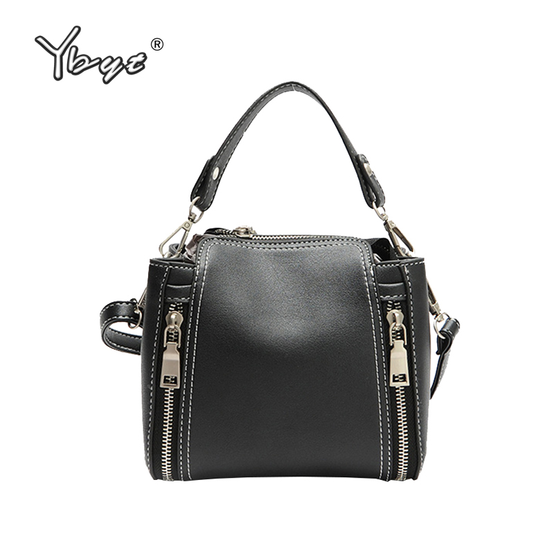YBYT brand vintage casual Bucket bags women PU leather handbags female shopping package ladies shoulder messenger crossbody bag ybyt brand 2017 new casual pu leather women package envelope clutch female shopping bag ladies shoulder messenger crossbody bags