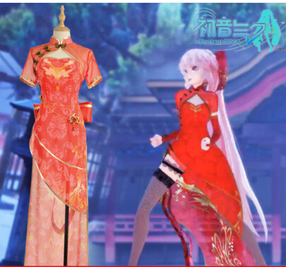 Custom Maken vocaloid Hatsune Miku Megurine Luka Luo Tianyi kanarie - Carnavalskostuums - Foto 3