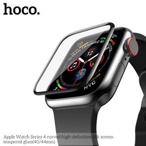 Image 1 - 3D изогнутый чехол для Apple Watch iWatch Series 5 Series 4 40 мм 44 мм