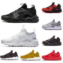 f9edf7f9b3b0 Triple White Black 4.0 1.0 Running Shoes Classical red Rose gold men women  Huarache ShoesTrainer sports