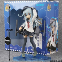 Kancolle Shimakaze Nendoroid Action Figure Anime Kantai Collection Action Figure Doll Model Toys Hobbies 20cm Kantai gsc WX241