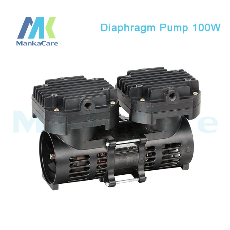 Manka Care -110V /220V (AC) 70L/MIN 100 W Oil Free Diaphragm Vacuum Pump /Silent Pumps/Oil Less/Oil Free/Compressing Pump