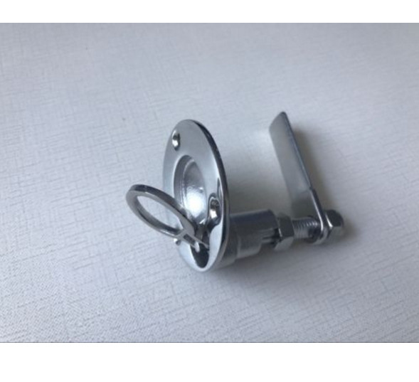 2pcs Boat Hatch Turning Lock Lift Ring Handle Latch 2 Marine Stainless Steel
