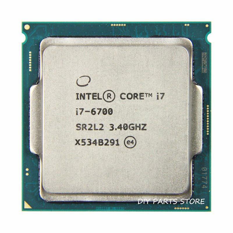 Intel Core  Quad Core I7-6700 Intel I7 6700 Processor LGA 1151  3.40GHz 6M RAM DDR3L-1333, DDR3L-1600 DDR4 GPU HD530