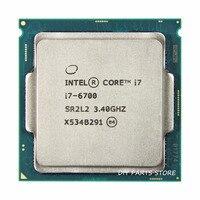 Intel core Quad core I7 6700 intel I7 6700 processor LGA 1151 3.40GHz 6M RAM DDR3L 1333, DDR3L 1600 DDR4 GPU HD530