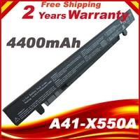 4400mAh 14.8V Laptop Battery For ASUS A41 X550 A41 X550A X550 A450 A550 F550 F552 K450 K55 0 P450 P550 R409 R510 X450 8 cells