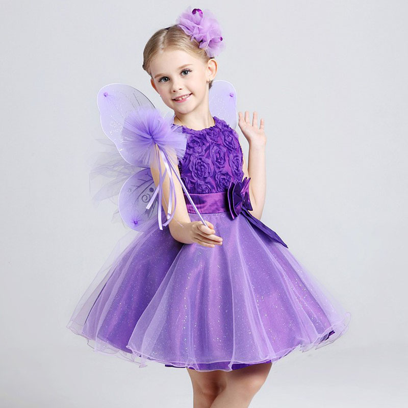 Kids Girls Party Dresses Christmas Clothes Baby Dress Costume Vest 2017 Girl Birthday - TOPATY Store store