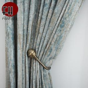 Jacquard Chenille Fabric Curta
