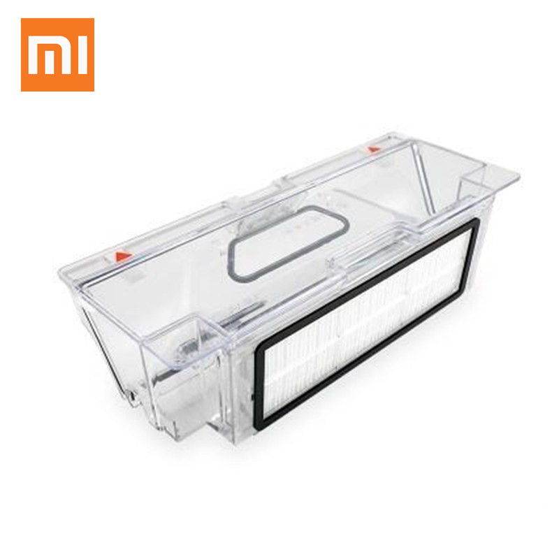 Spare Part Dust Box For Xiaomi Mi Robot Vacuum Cleaner and 1pcs HEPA Filter For Xiaomi Robotisc Sweeper motor hepa filter for bosch siemens bsgl3126gb bsgl312gb vacuum clear spare part replacement vacuum cleaner accessories parts