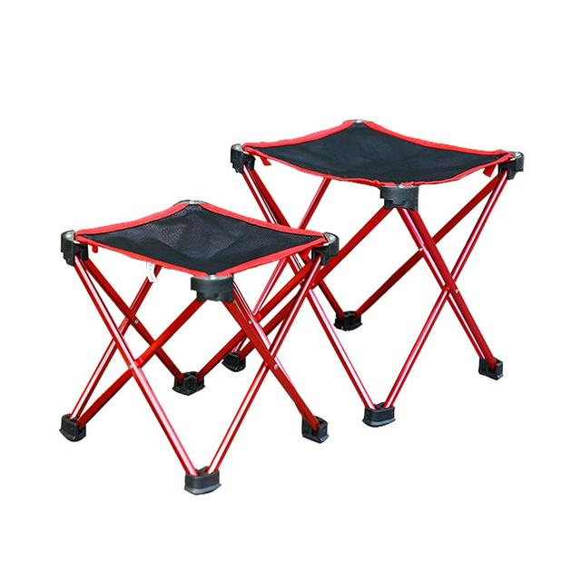 High Outdoor Folding Chairs Staples 2018 Quality Ultralight Mini Portable Chair Aluminum Alloy Fishing