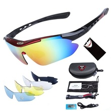 Polarized Cycling Glasses for Men Women Professional Riding MTB Sunglasses Mountain Road Oculos Windproof Eyewear Gift Scarf