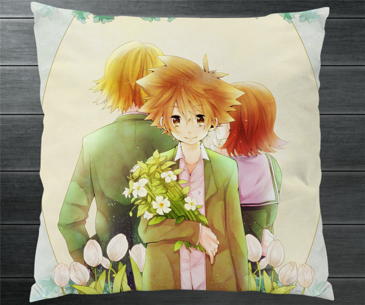 Digimon Adventure YAGAMI TAICHI Adult Two Side 40x40cm Pillowcase Pillow Case Cover Cosplay Manga Gift BED/SOFA/CAR Decor P11