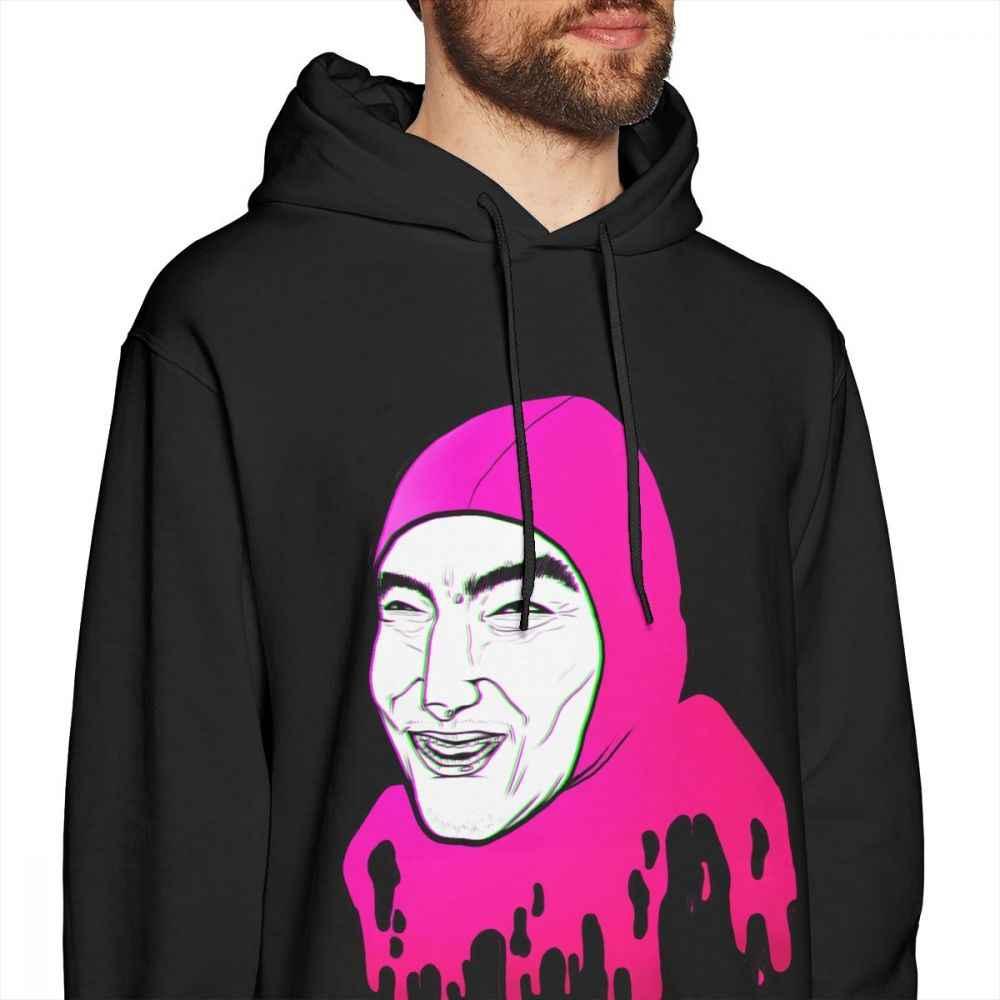 5ed078b69 ... Vaporwave Filthy Frank Hoodies Stylish Streetwear Pink Guy Joji Organic  Cotton Long Sleeve Hoodie ...