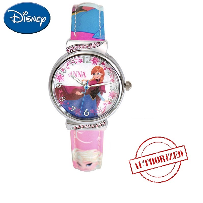 Children's Watches Search For Flights Frozen Childrens Watches Disney Brand Children Girls Wristwatch Quartz Leather Waterproof Child Watch Girl Cartoon Diamond
