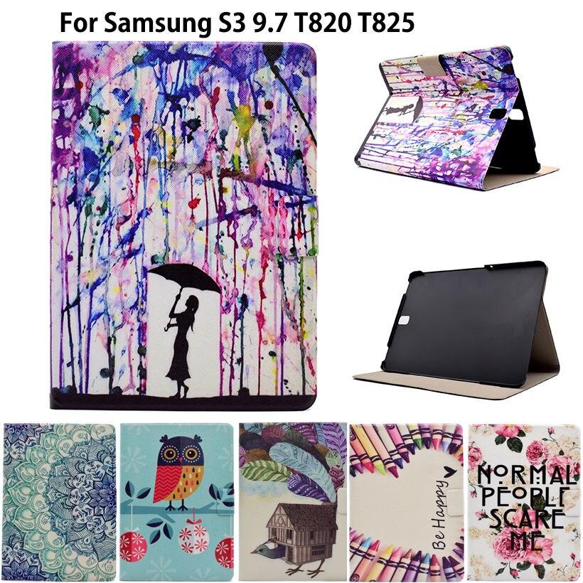 Custodia in pelle PU ultra sottile verniciata moda per Samsung Galaxy - Accessori per tablet