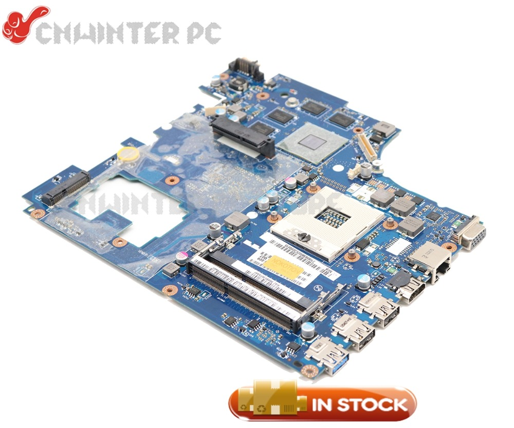 NOKOTION Laptop Motherboard For Lenovo Y770 G770 PIWG4 LA-6758P REV:1A MAIN BOARD with HD 6650M 1GB GPU
