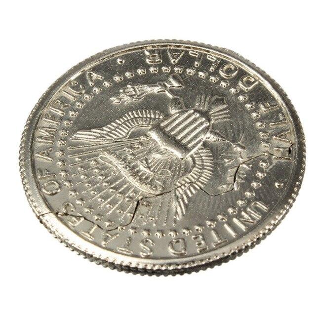 1 Stück 3 Cm Magie Close Up Street Trick Beißen Münze Beißen Und