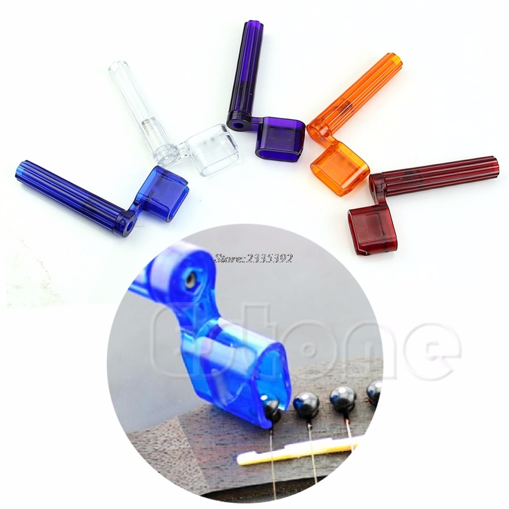 New Plastic Guitar String Winder Speed Peg Puller Bridge Pin Remover Handy Tool