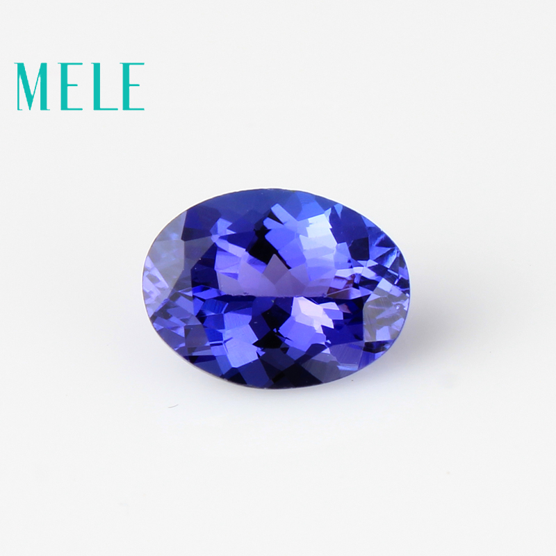 Натуральный Танзанит синий свободный камень 6 мм X 8 мм Овальный вырез для изготовления ювелирных изделий, высококачественный дизайнерский