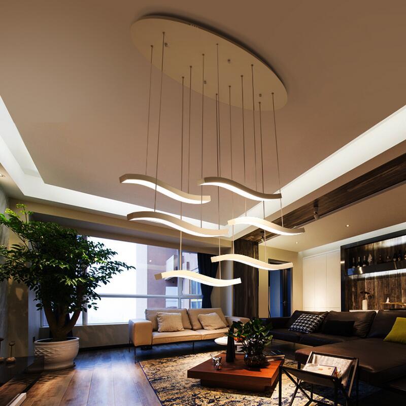 Led Moderní Lustr Osvětlení Jídelna Móda Kutilství Kreativita Jednoduchost 110V 220V Lustry Ložnice Ložnice Obývací pokoj