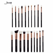 2017 Jessup Brushes 20pcs Professional Makeup Brushes Set Cosmetics Brush Tools kit Foundation Powder Brushes T165