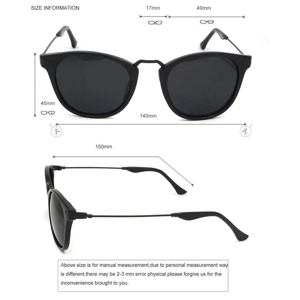 f49b44738a757 ESNBIE Fashion Unisex Sun Glasses For Women Polarized Mens Sunglasses  Coating Mirror Oculos De Sol Feminina Vintage Eyewear-in Sunglasses from  Apparel ...