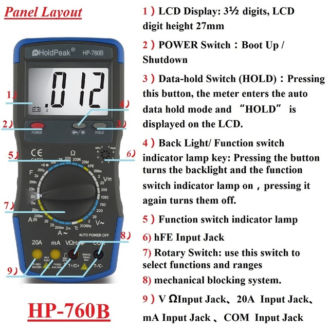 Digital Display Multifunction Thermometer Circuit Controlcircuit