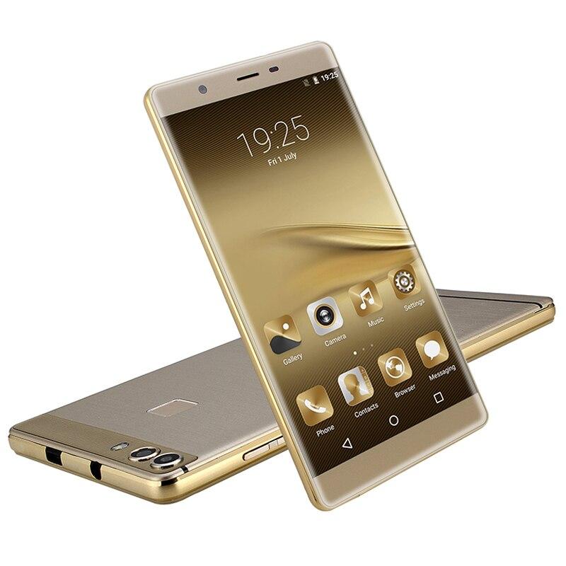 Mampa mince Smartphone Android 6.0 Smartphone 6.0 pouces QHD écran deux caméra Quad Core 1 + 8GB 3G WCDMA Google Play téléphone portable