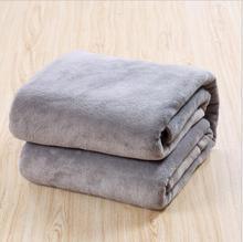 Blanket Spring Warm Bedclothes Solid Fleece Blankets for Beds Baby Student Fiber Fabric Couverture Polaire Cobertor цена в Москве и Питере