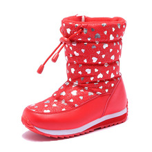 New arrivals girls winter warm snow boots for kids children's casual shoes princess warm boots girl high quality snow boots