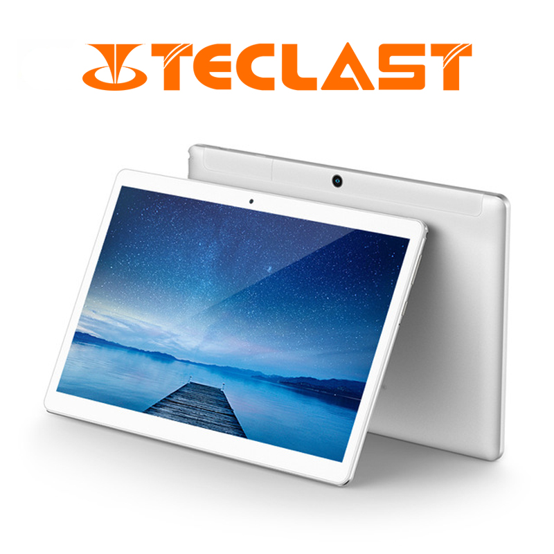 10.1 pouces 1920*1200 Teclast A10S Tablet PC Android 7.0 MTK 8163 Quad Core 2 GB RAM 32 GB ROM Double WiFi GPS Comprimés