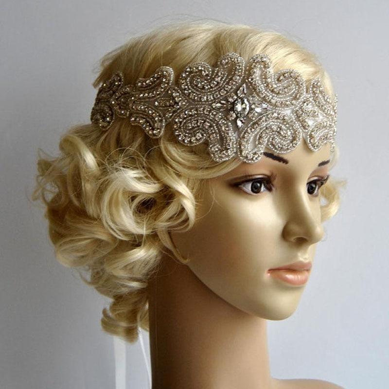 Wholesale Great Gatsby Bridal Headpiece Bridal Rhinestone