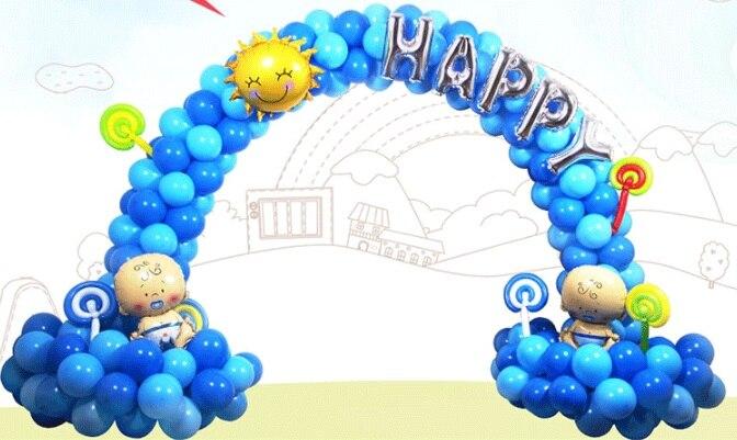 1Set Ballonnen stand Boog Kolom Base voor bruiloft evenementen Decoratieve Ambachten Gadgets Evenementen Feestartikelen - 6
