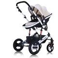 Envío libre a Rusia Reino unido Estados Unidos Alemania de Lujo bebé cochecito ligero carritos para bebes