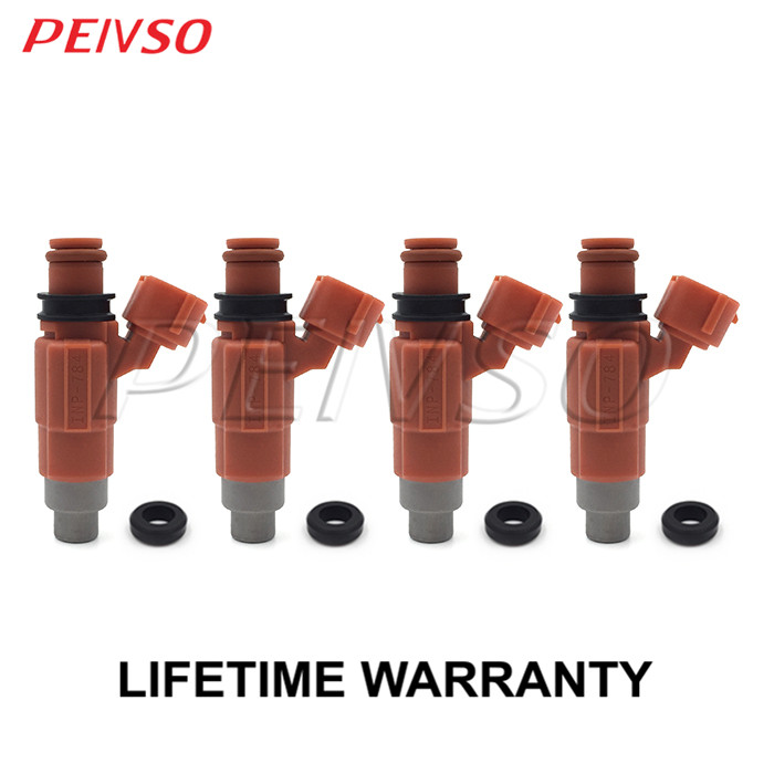 4x FENP 13 250 INP 784 fuel injector for Mazda E220 2 2L L4 1992 2002