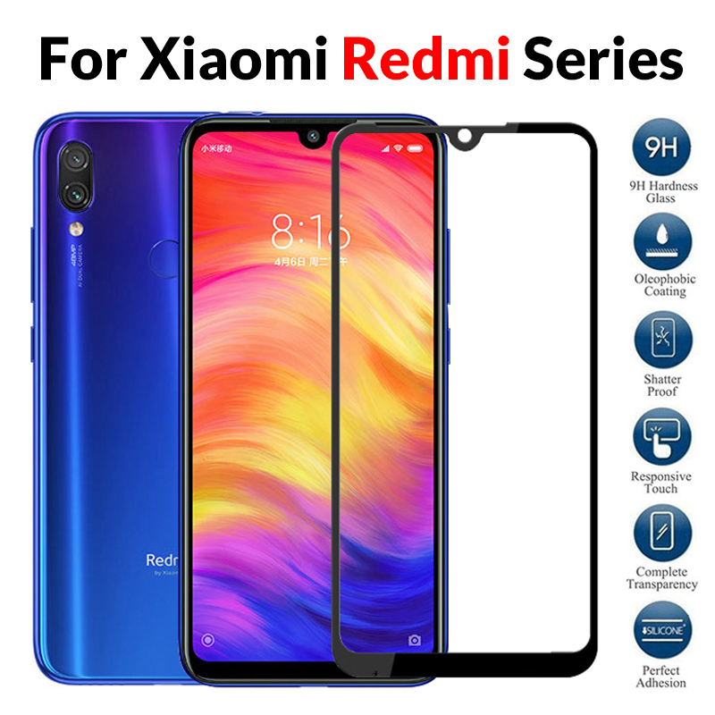 Protective Glass For Xiaomi Redmi Note 7 Case 3D Tempered Glass For Xiomi Xaomi ksiomi Red mi Note 6 Pro 5 Plus Note7 Protection(China)