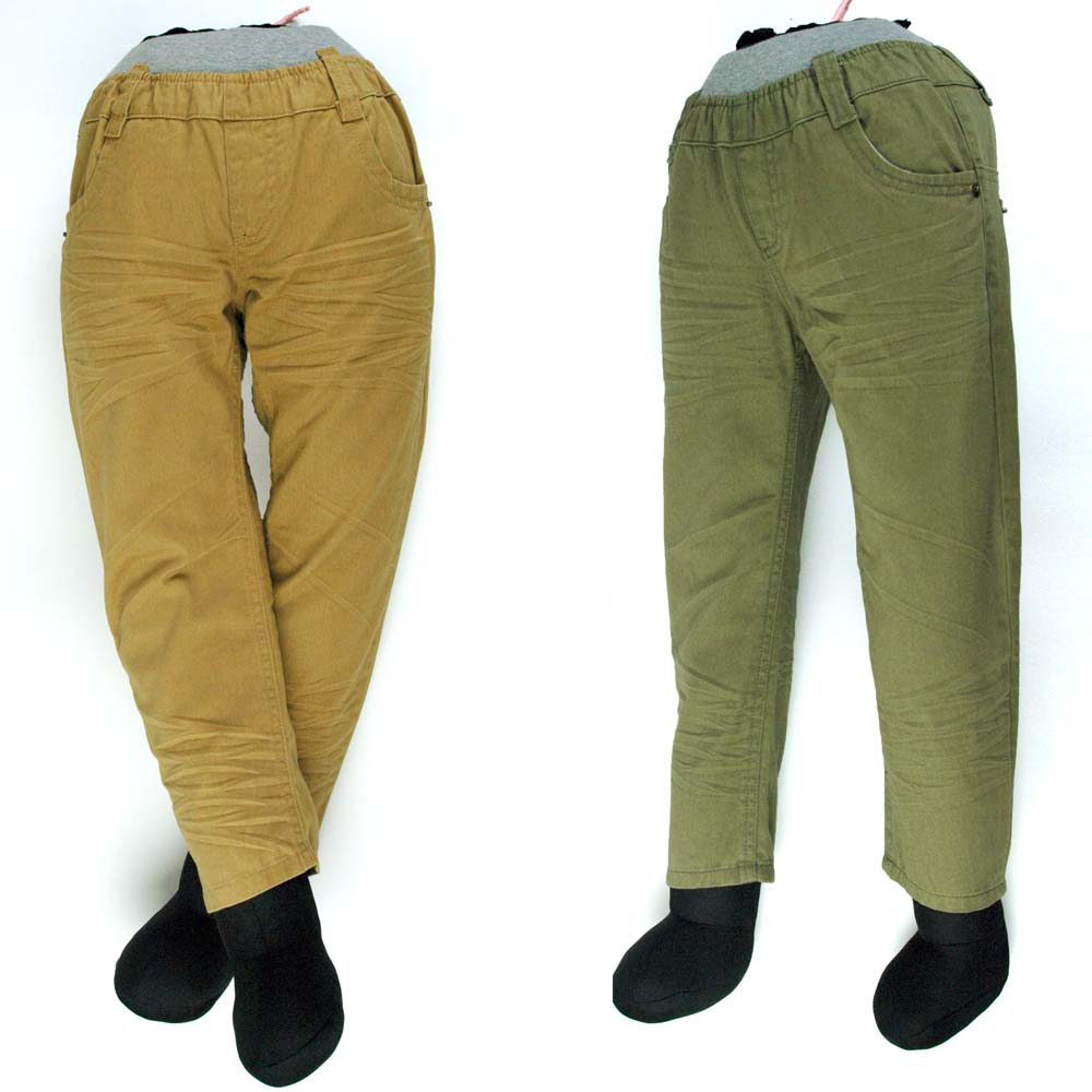 Boys' Embroidered Flares Trousers