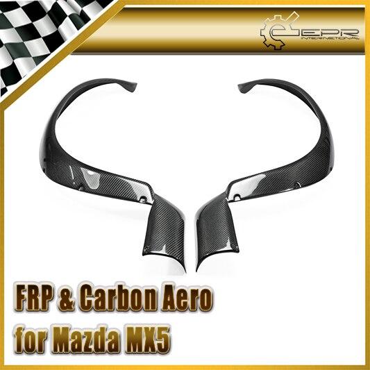 Voiture-Style Pour Mazda MX5 1989-1997 NA Miata Roadster En Fiber De Carbone RB Style Large Corps Avant Garde-Boue R RB Garde-Boue