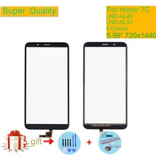 For Huawei Honor 7C LND-AL30 LND-AL40 Touch Screen Touch Panel Sensor Digitizer Front Glass Touchscreen NO LCD Replacement 5.99