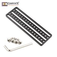 """CAMVATE Монтажная пластина для сыра с 1/"""" резьбовыми отверстиями для камеры C1852 аксессуары для фотосъемки"""