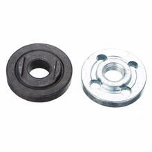 Mayitr M10 Angle Grinder Flange Kit Lock Nut Inner Outer Set Power Tool Accessories New цена