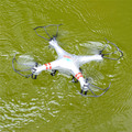 H2O Waterproof Elves Drone Resistance 2.4G 4CH RC Waterproof Quadcopter