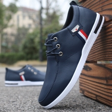 Brand men shoes casual men leather shoes breathable comfortable lace up men shoes sneakers driving shoes man flat zapatos hombre new men lace up casual shoes leather loafers breathable mens driving shoes luxury comfortable designer flats zapatos de hombre
