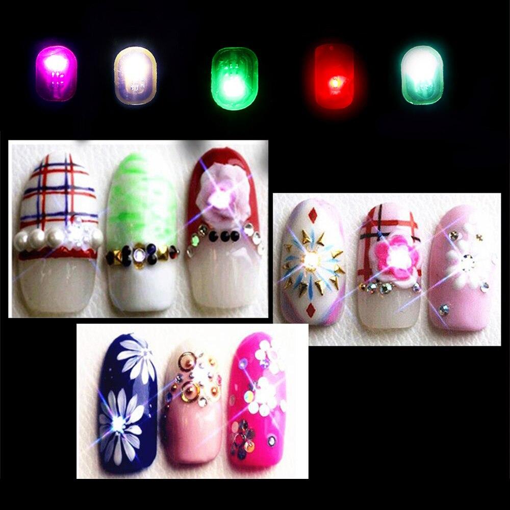 1 Pc Fashion 0.7*1.1cm Women NFC Nail Art Tips DIY Stickers Phone ...