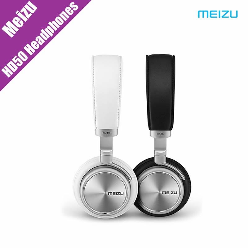 ФОТО Original Meizu HD50 Headphones HIFHIFI Aluminium Alloy Shell  For Xiaomi Redmi Note 2 m4c Meizu phone PC Computer