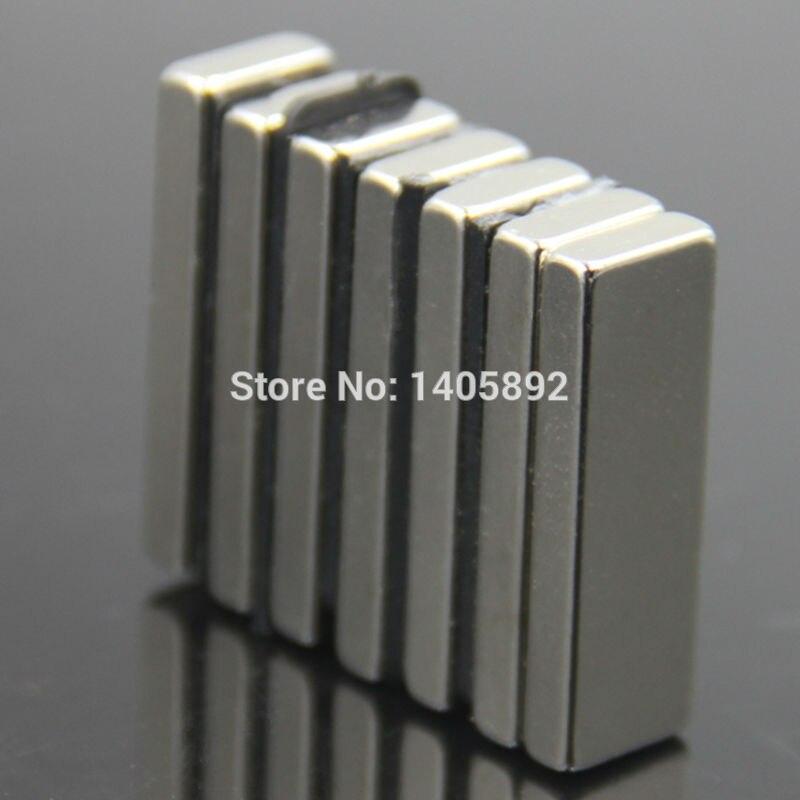 2803fb38370 2 pcs Super poderosas Strong Rare Earth bloco de NdFeB ímã de neodímio N35  ímãs F30   10   4 mm - frete grátis