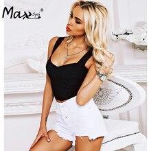 Max Spri 2017 New Spaghetti Strap Bandage Top Women Sexy Crops Tops Summer Wholesale