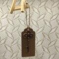 100pcs/lot Wedding Favor Wedding Tags Antique Copper Skeleton Key Beer Bottle Opener with Escort Tags Place Cards