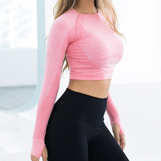 Women's Yoga Crop Top 2