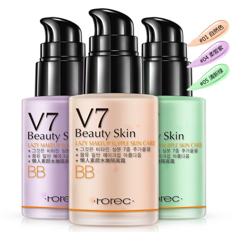 US $4 71 41% OFF|3 Colors BB Cream Segregation frost cc cream air cushion  Whitening Compact Foundation Concealer korean cosmetic makeup forever-in BB